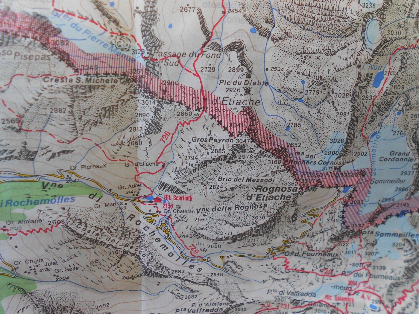 mappa zona
