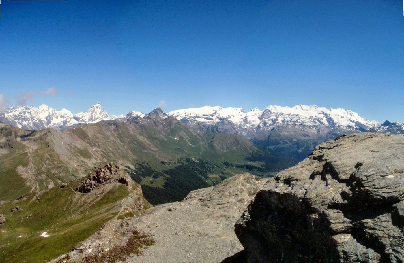 Zerbion (Monte) da Barmasc per il Colle della Portola 2015-06-24