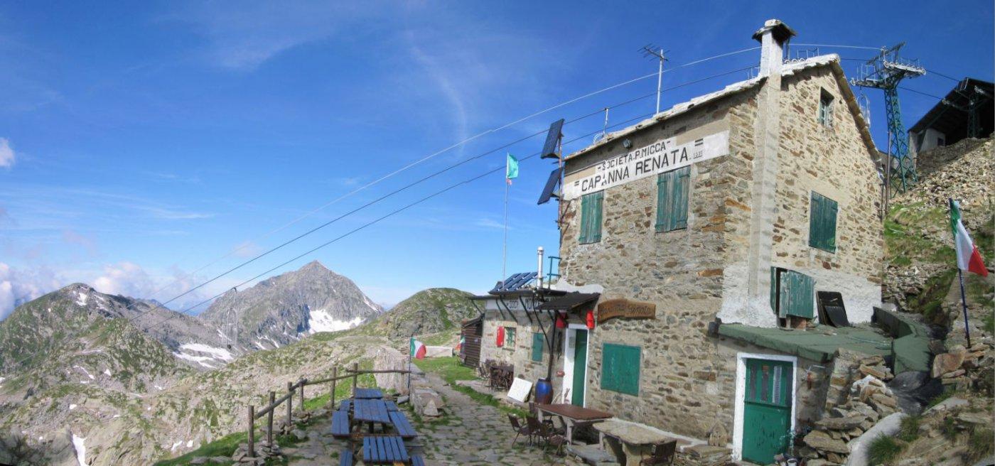 Il rifugio Capanna Renata