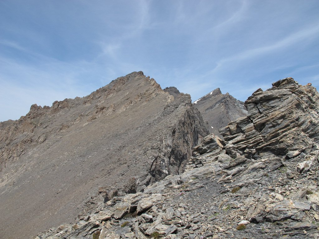 Rocce del Rouit dai pressi del Colle Platasse