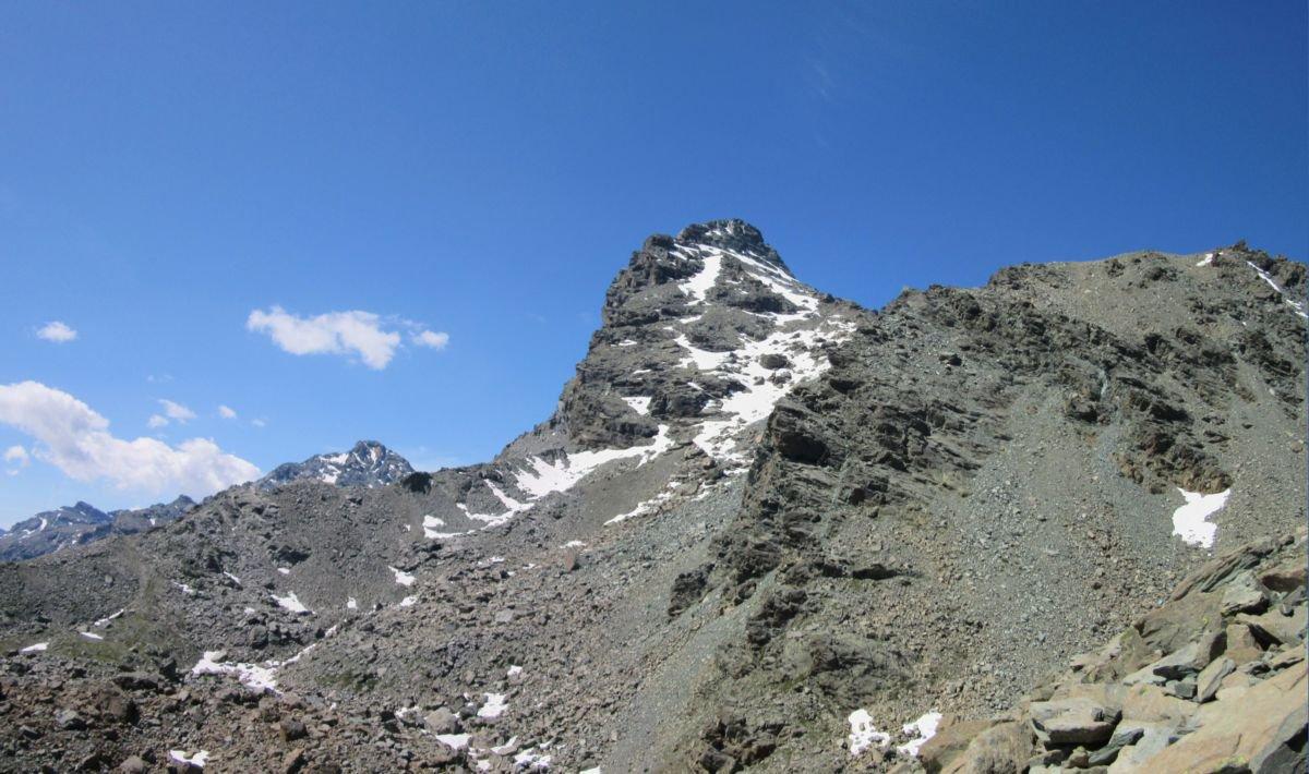 Monte Avic da un altra visuale