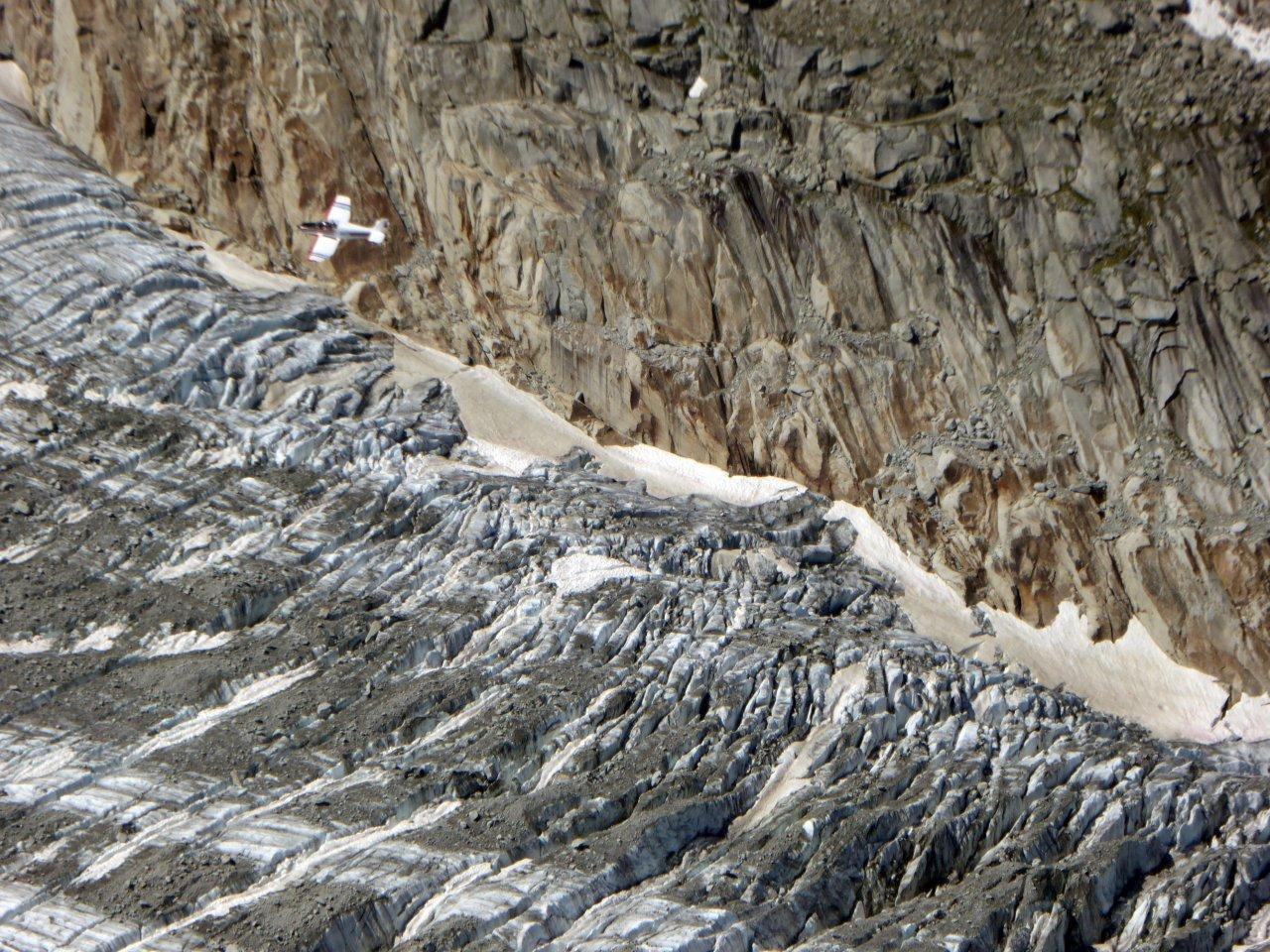 presenze sul ghiacciaio d'Argentiere
