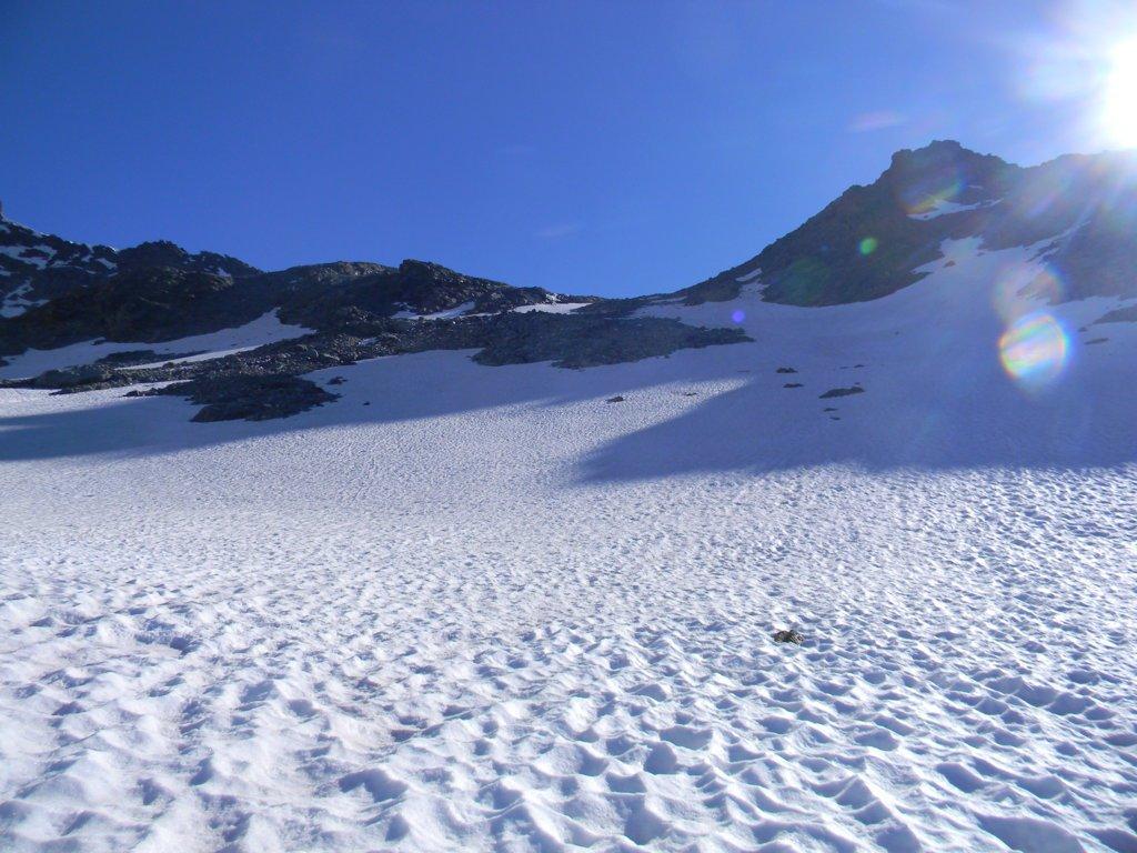 il facile ghiacciaio Labby
