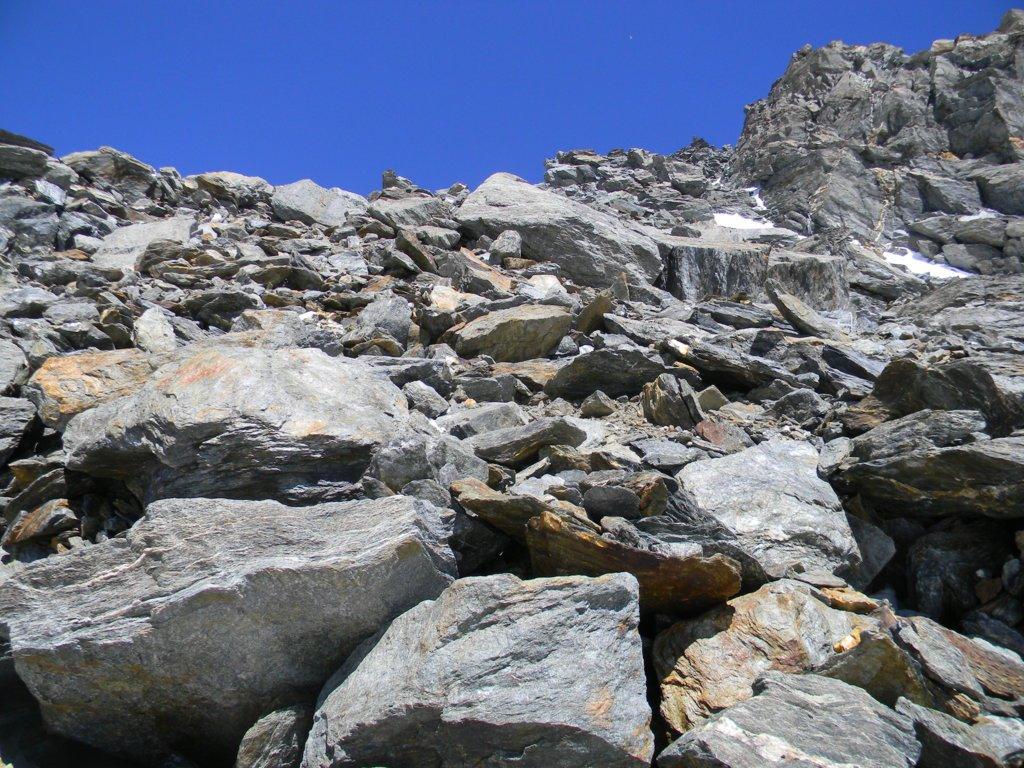 pietraia dell'anticima