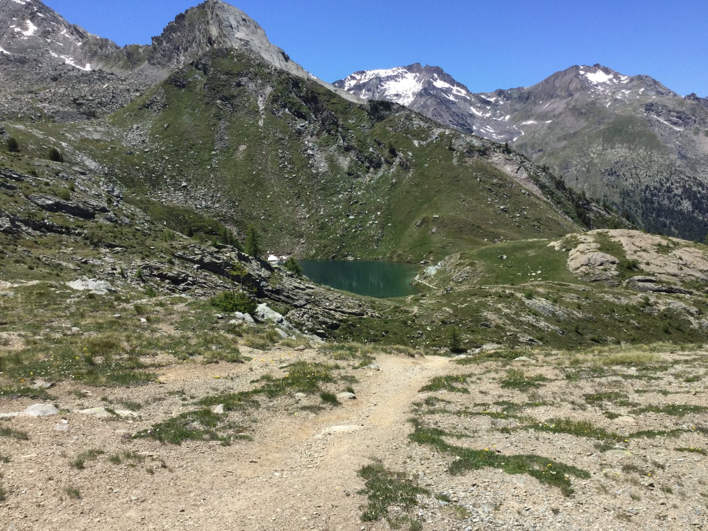 Loie (Lago di) da Lillaz per Alpi di Bardoney 2015-06-28