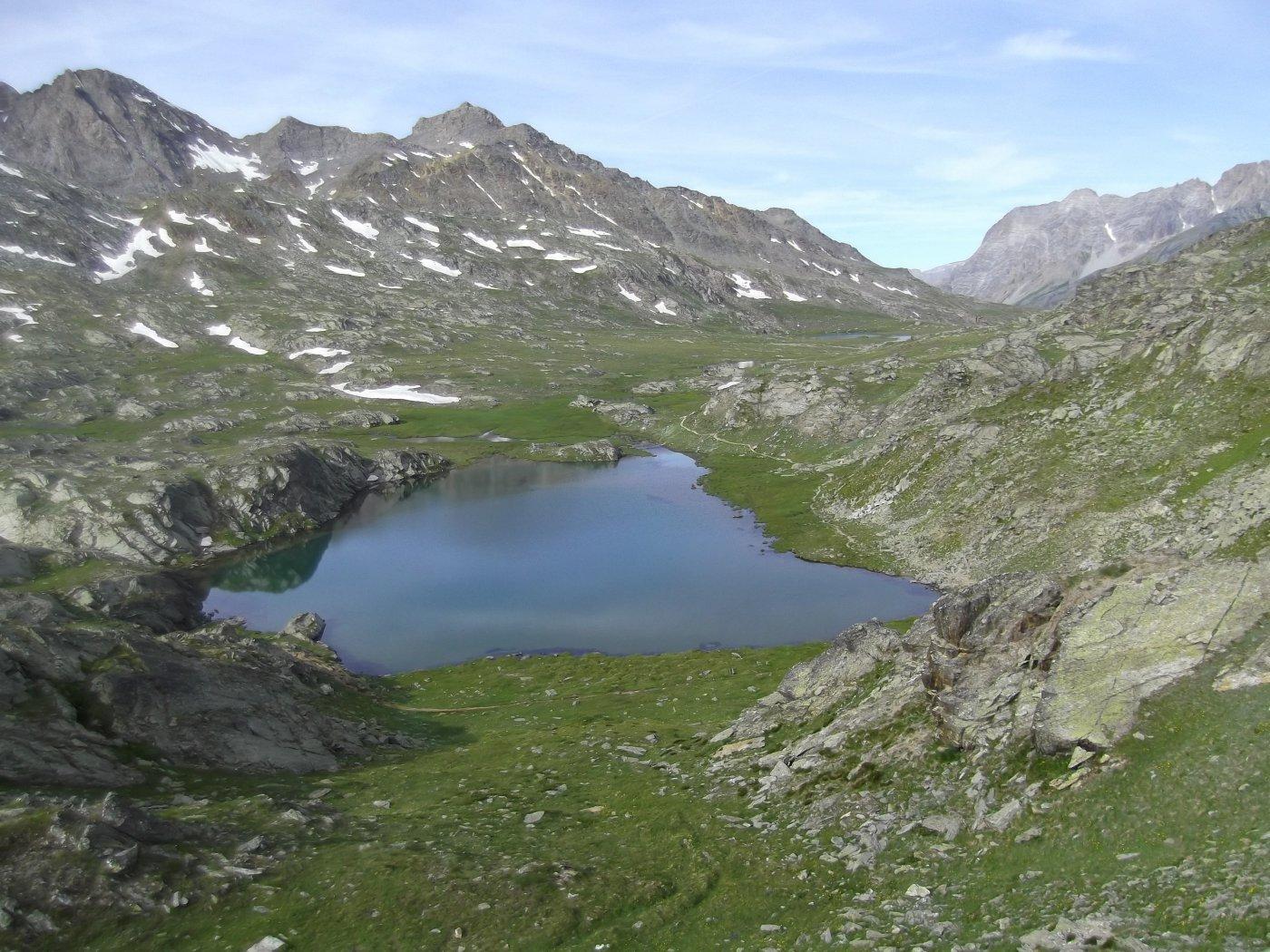 sopra il Col Longet e i laghi