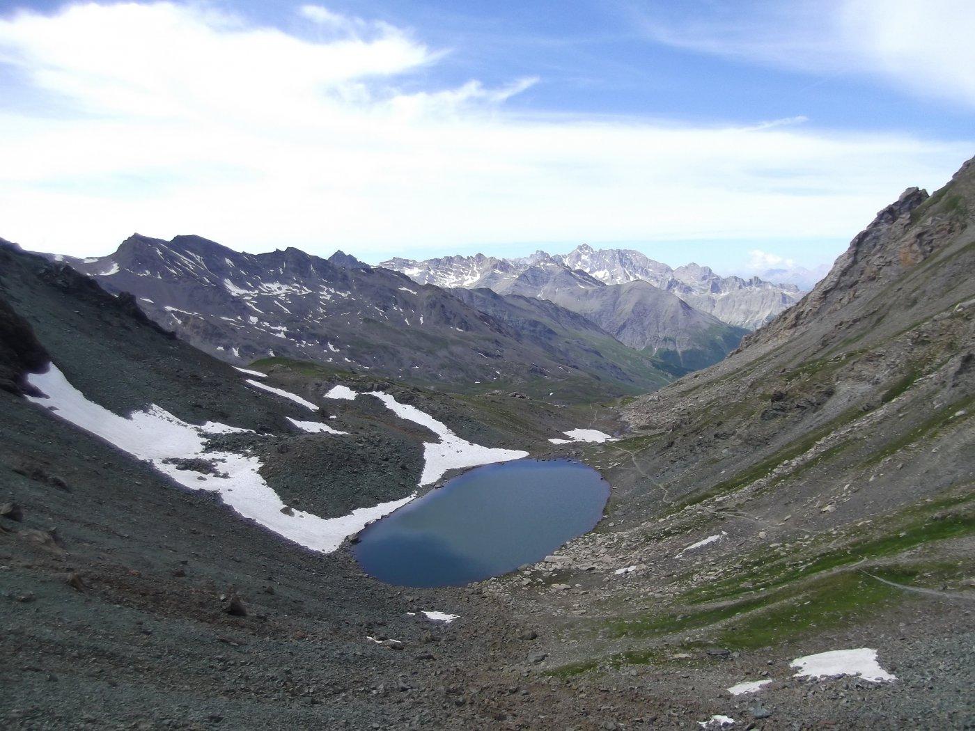 Lac de la Noire dal colle