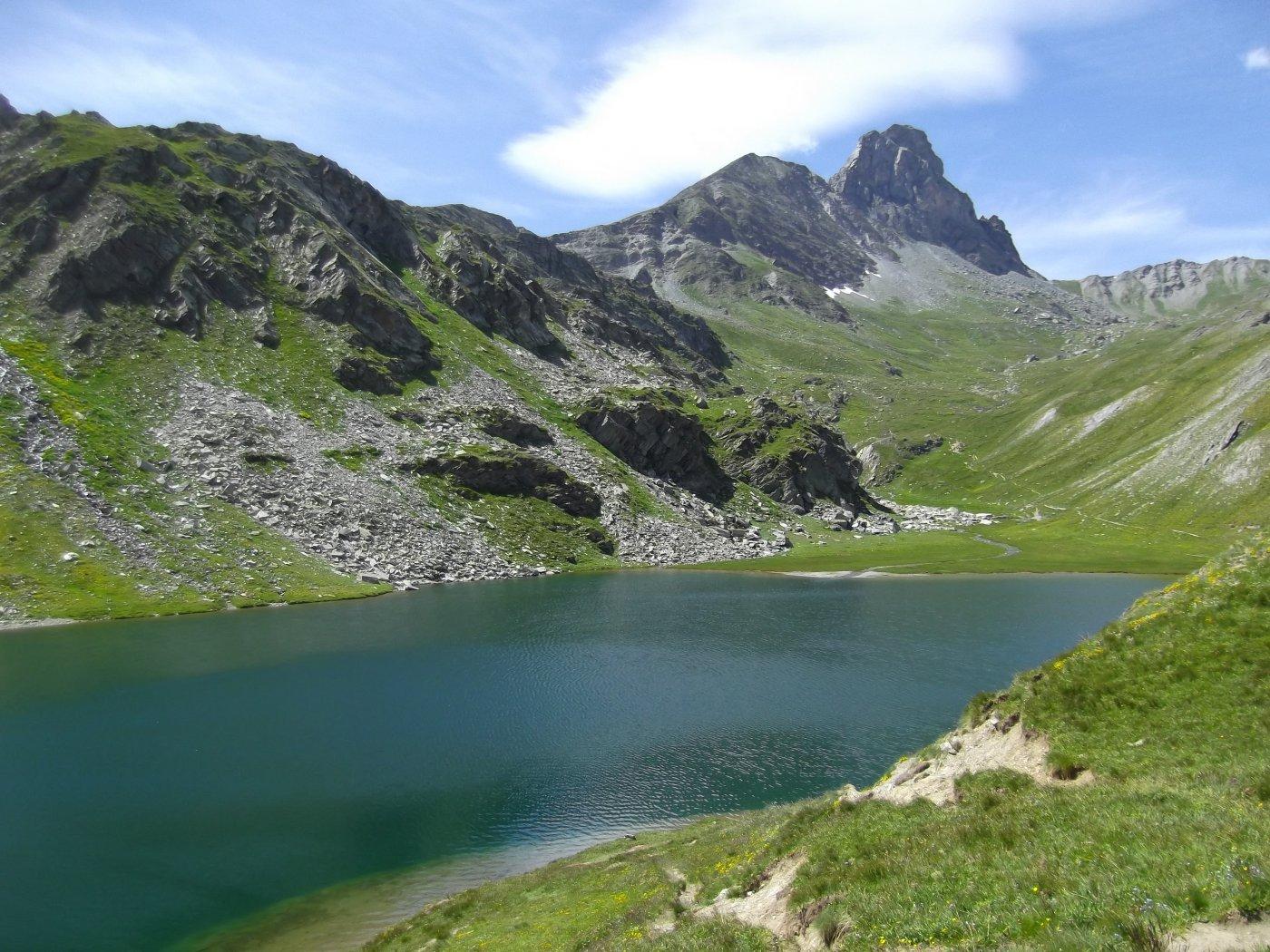 il Lago Bleu e la Niera