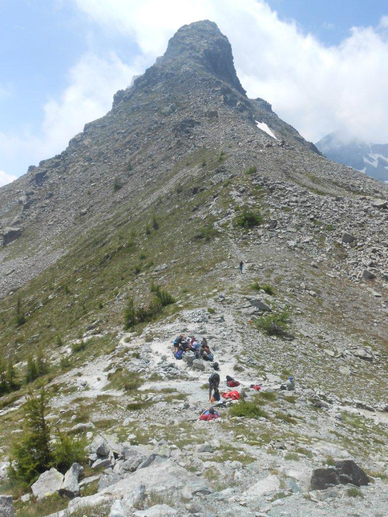 al Colle del Lago Bianco