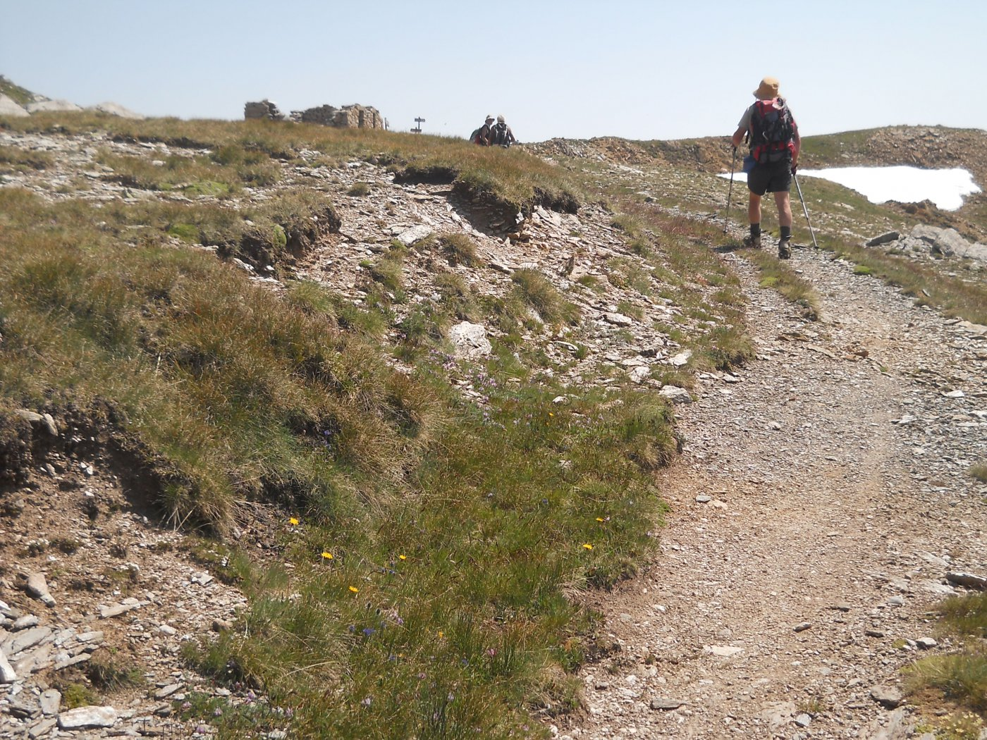 in vista del colle cleopaca, 2752 mt