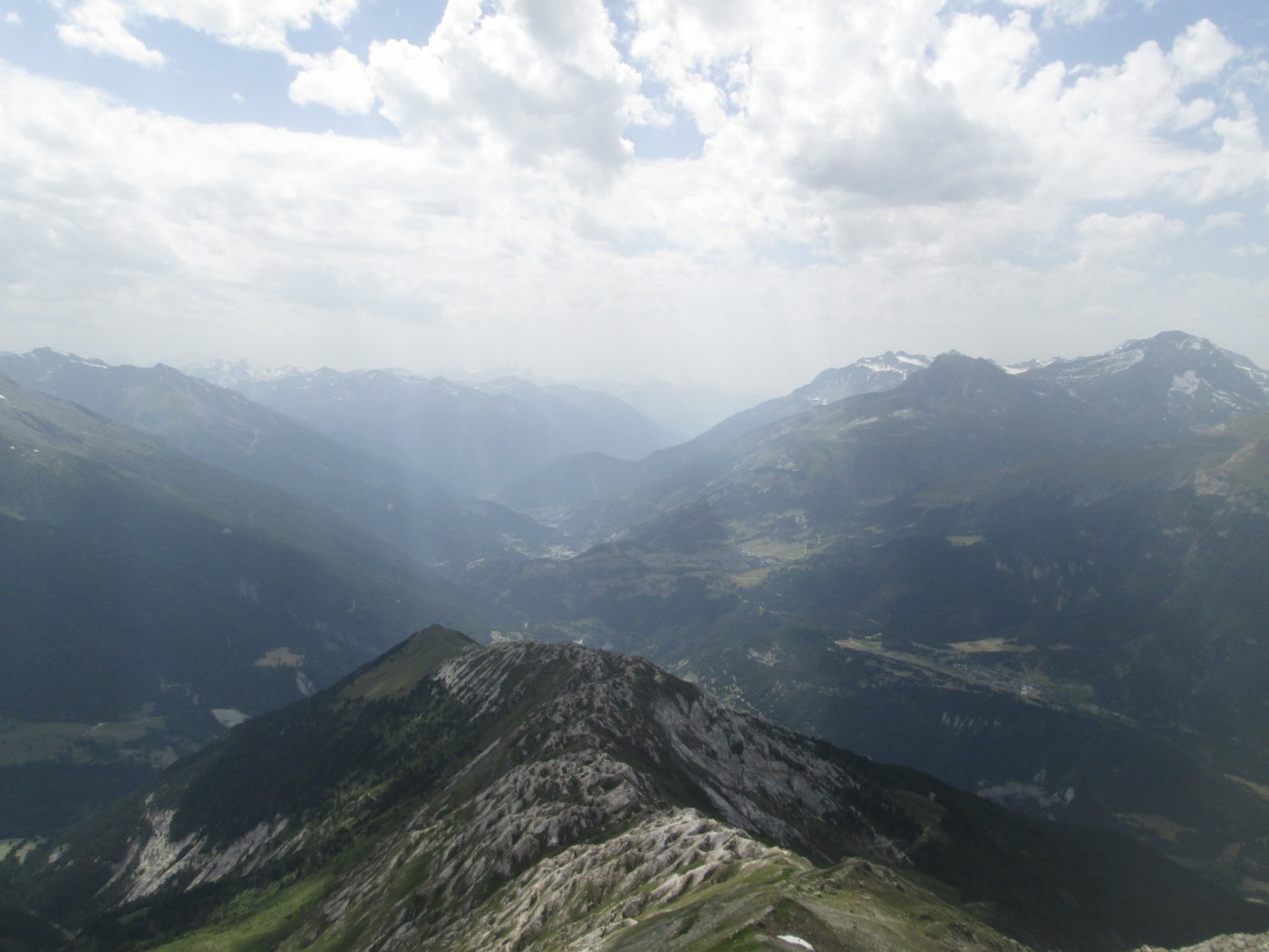 panorama verso la Maurienne