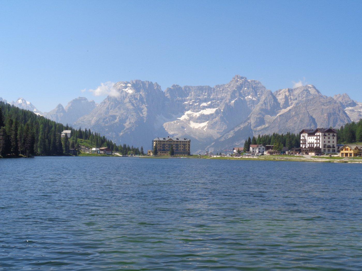 Sorapiss e lago di Misurina