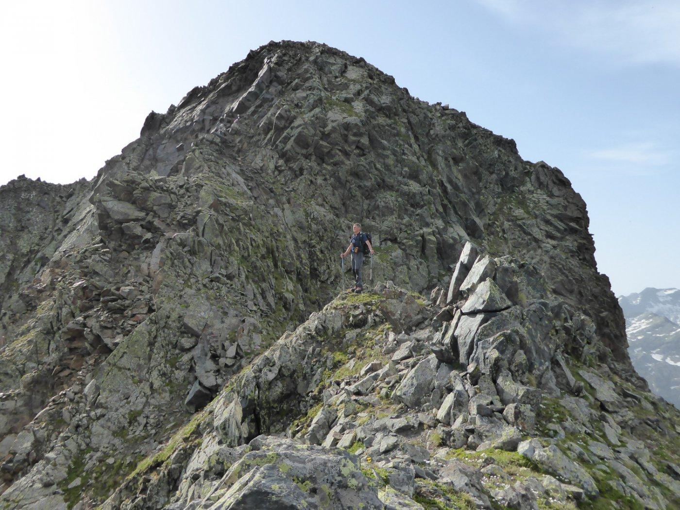 Ultimo tratto per il Monte Nero