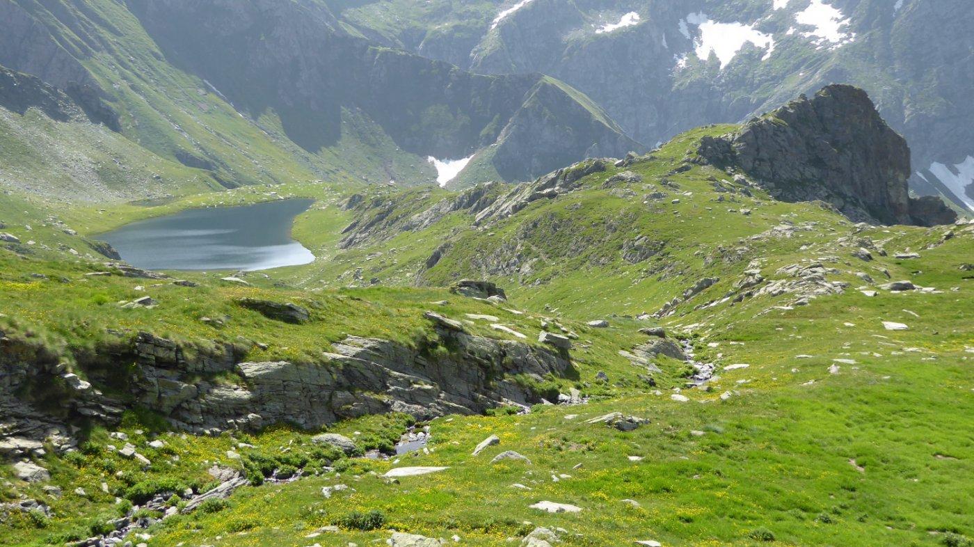 Lago e Truc Santanel