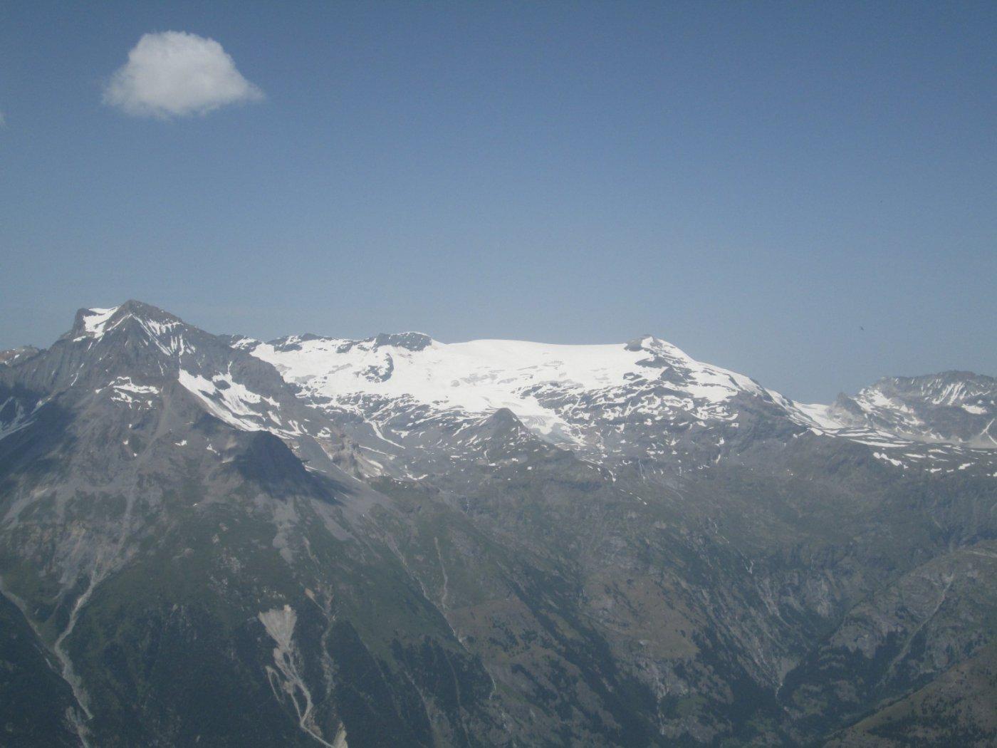 panorama verso il Dome de Chasseforet