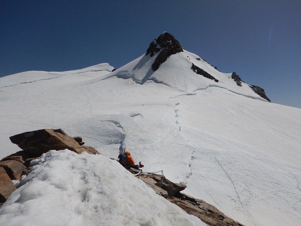 Vista sul Corno Nero dalla cima