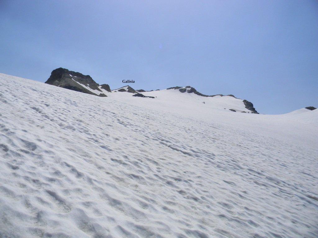 la Galisia dal ghiacciaio Basagne
