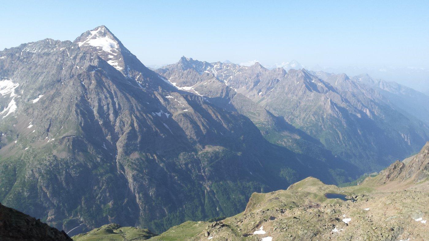 Luseney vista dalla cima
