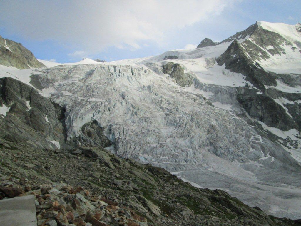 il ghiacciaio dalla Cabane de Moiry
