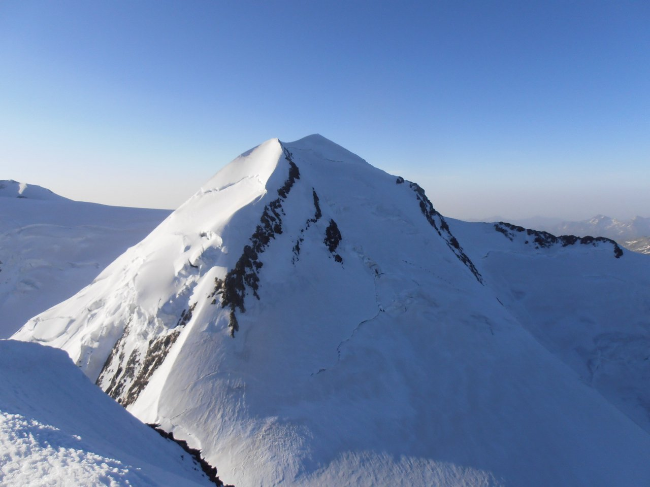07 - il Castore dalla cima