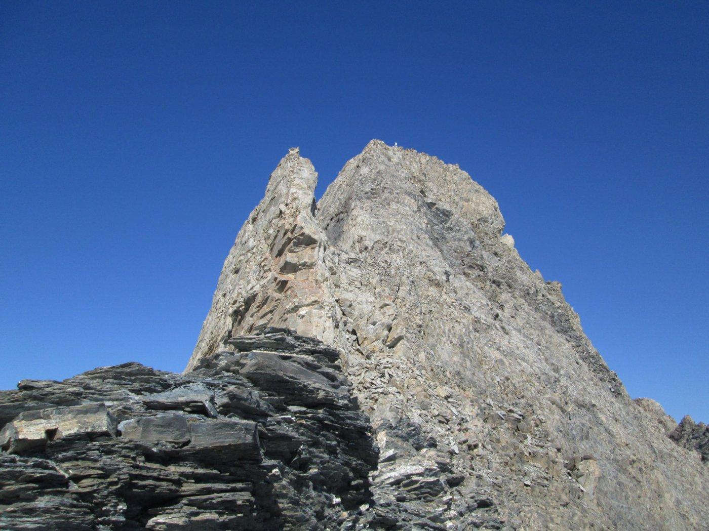 Pic d'Asti visto dalla sella
