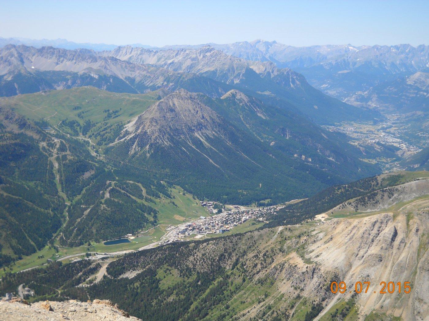 panorama verso il montgènevre