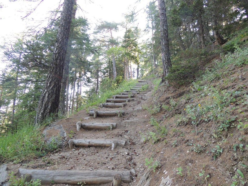 tratto scalinato