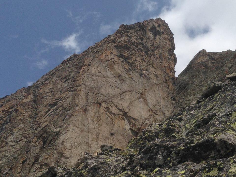 L2 è sulla fessura più in basso a sinistra, primo tiro non visibile nella foto