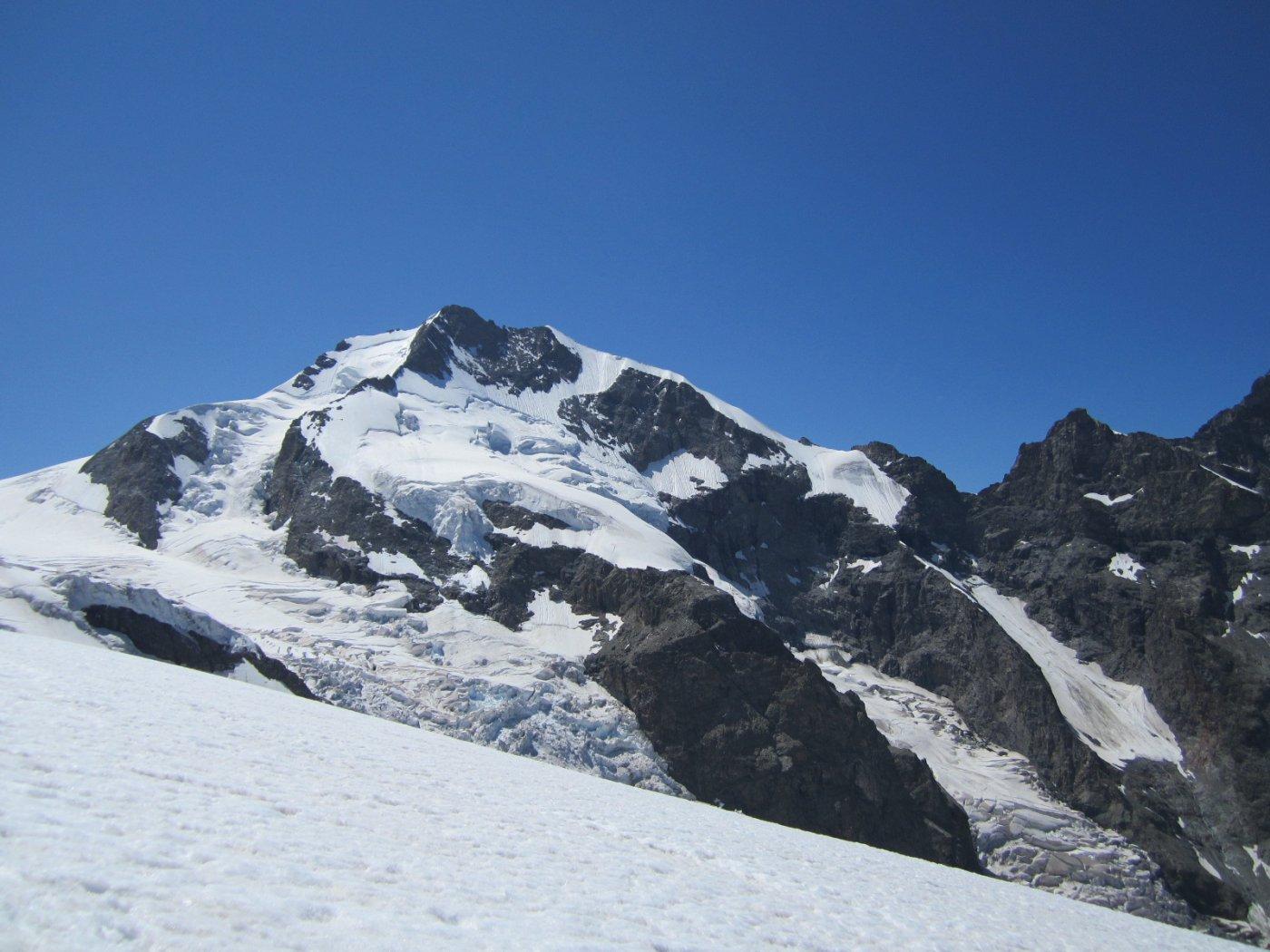 ...il Bernina e la Biancograt bene in vista….