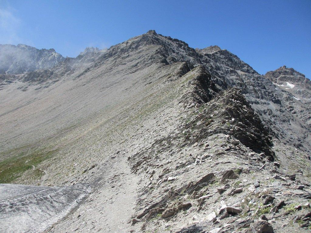 La cresta est dal colle Autaret