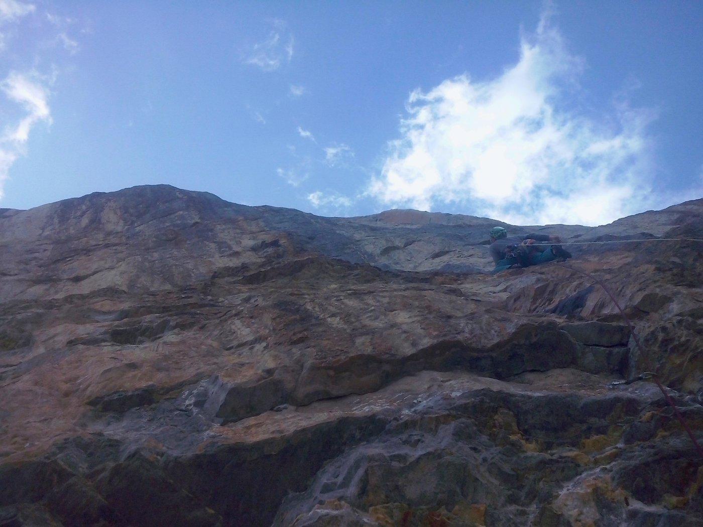 Il primo 7a all'Eiger non si scorda mai
