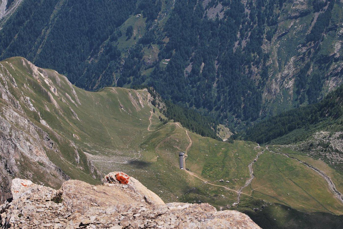 Piccolissimo dalla vetta: l'Alpeggio di Feluma