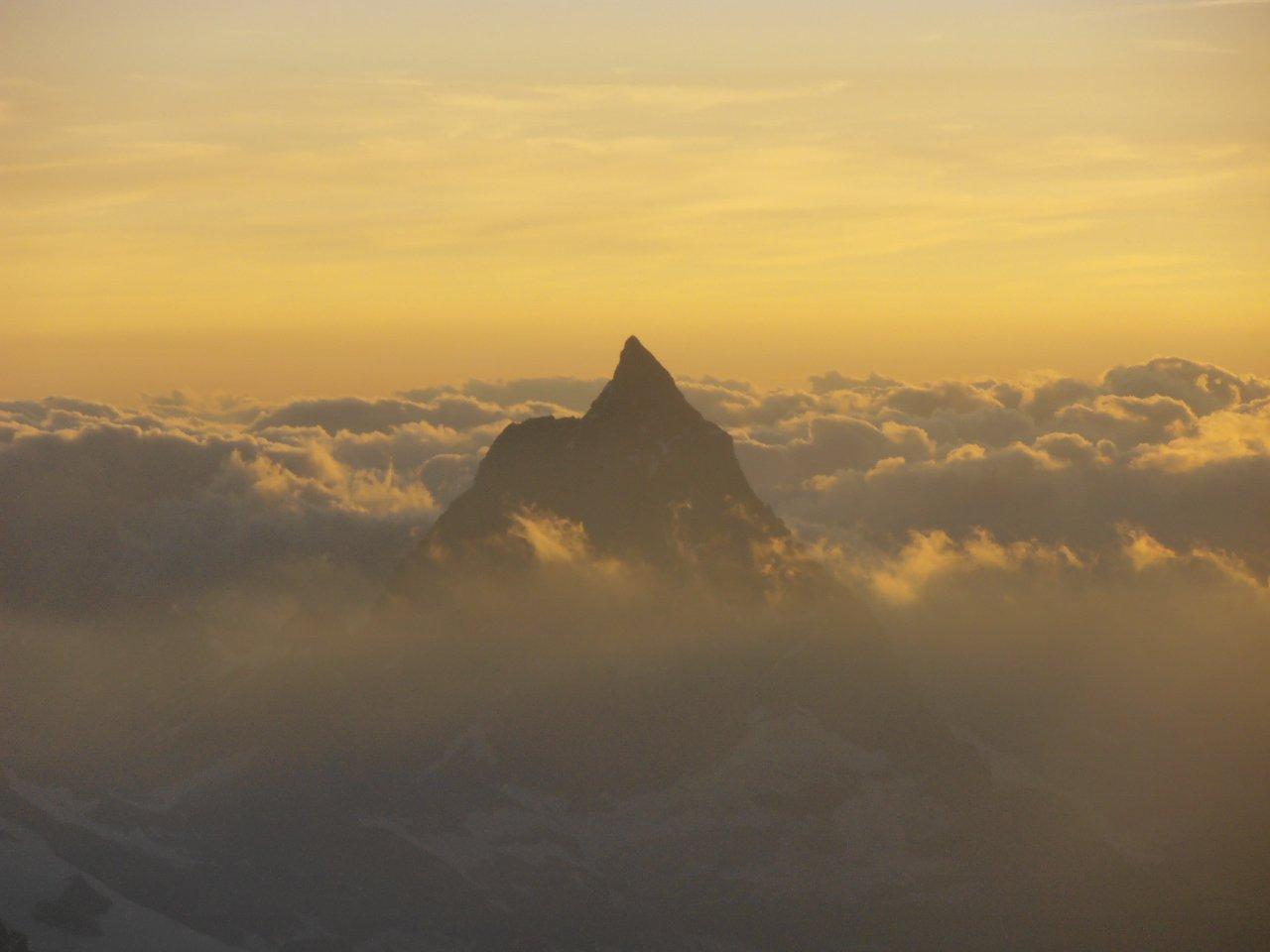 03 - il Cervino al tramonto