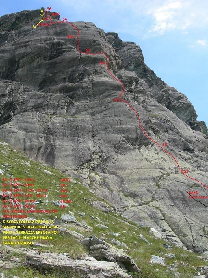 Alpe Gera (Pilastri del lago di) Diopside 2015-07-12