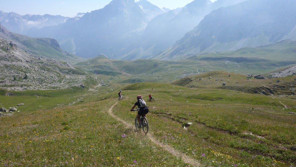 single track verso il vallone del maurin