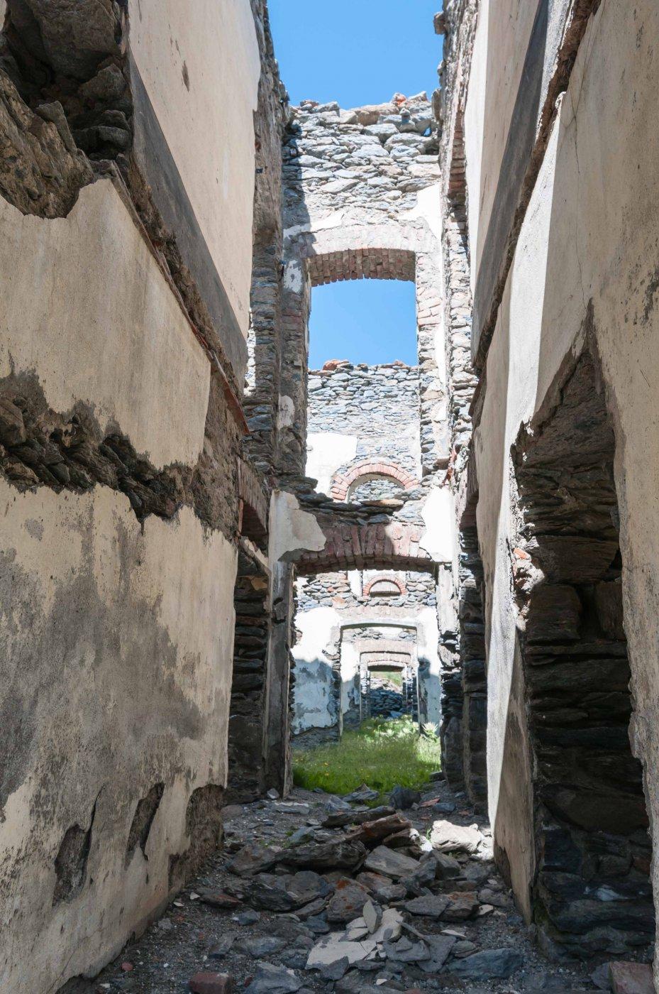 Interni del fortilizio