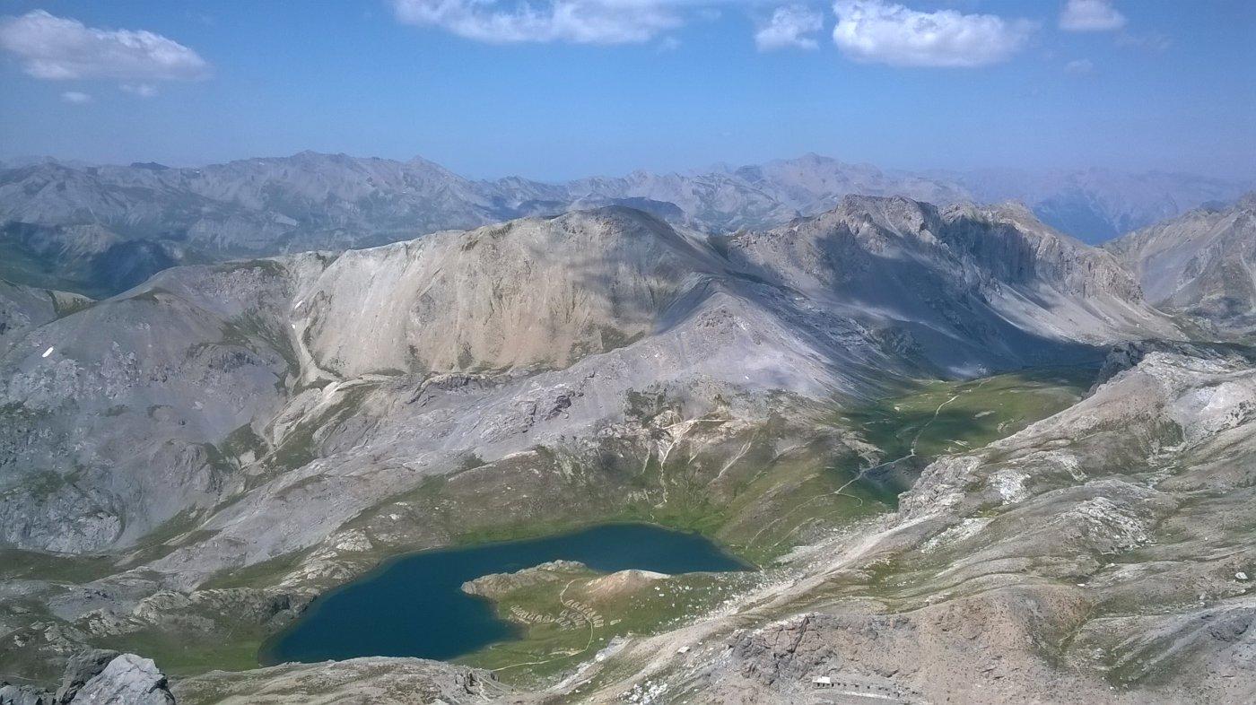 i laghi di roburent dalla cima