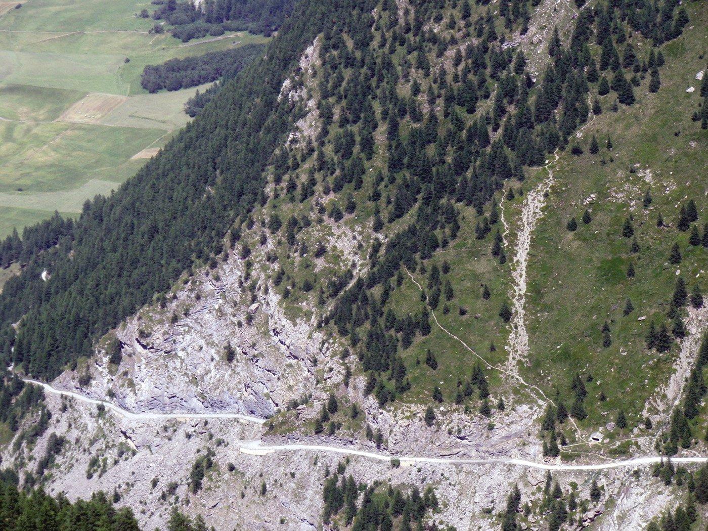 Il sentiero per la Tierce