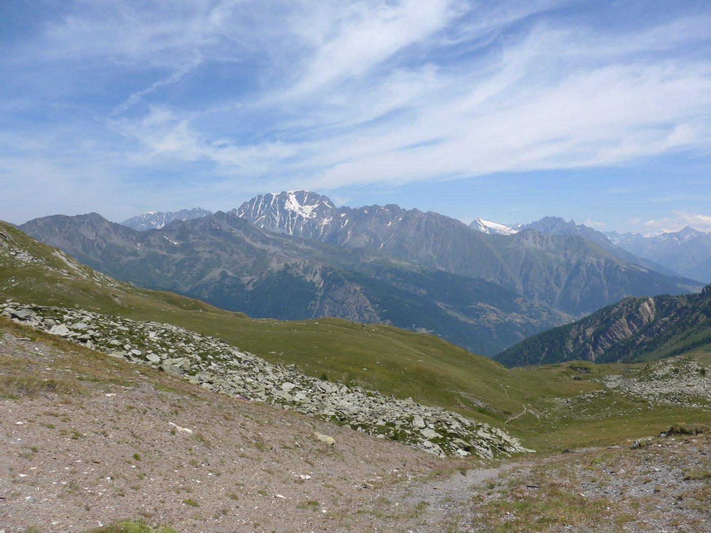 Il Mont Velan visto dal Col Citrin