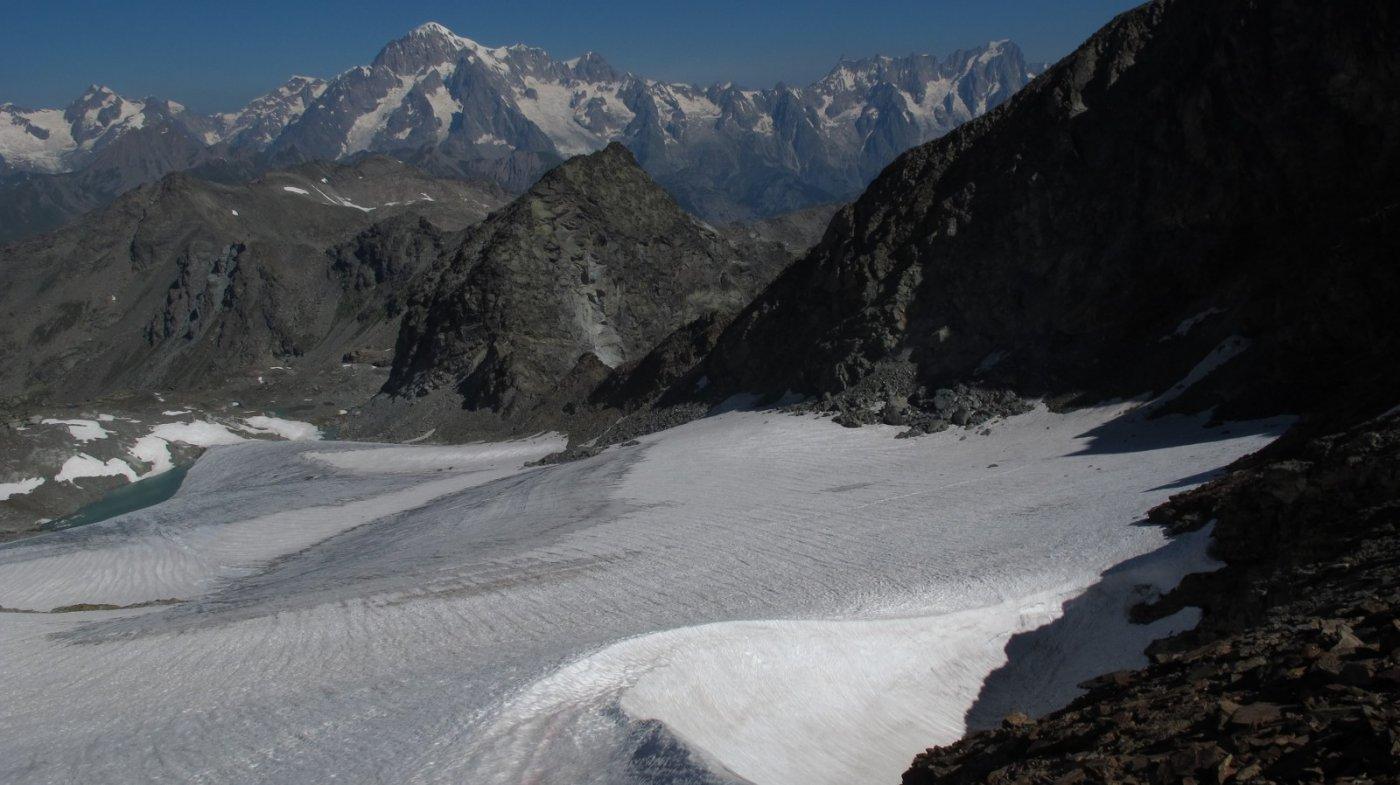 Il ghiacciaio disceso
