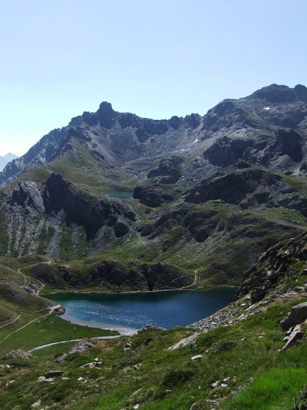 Lago Blu ,  Lago Nero e Tour Real