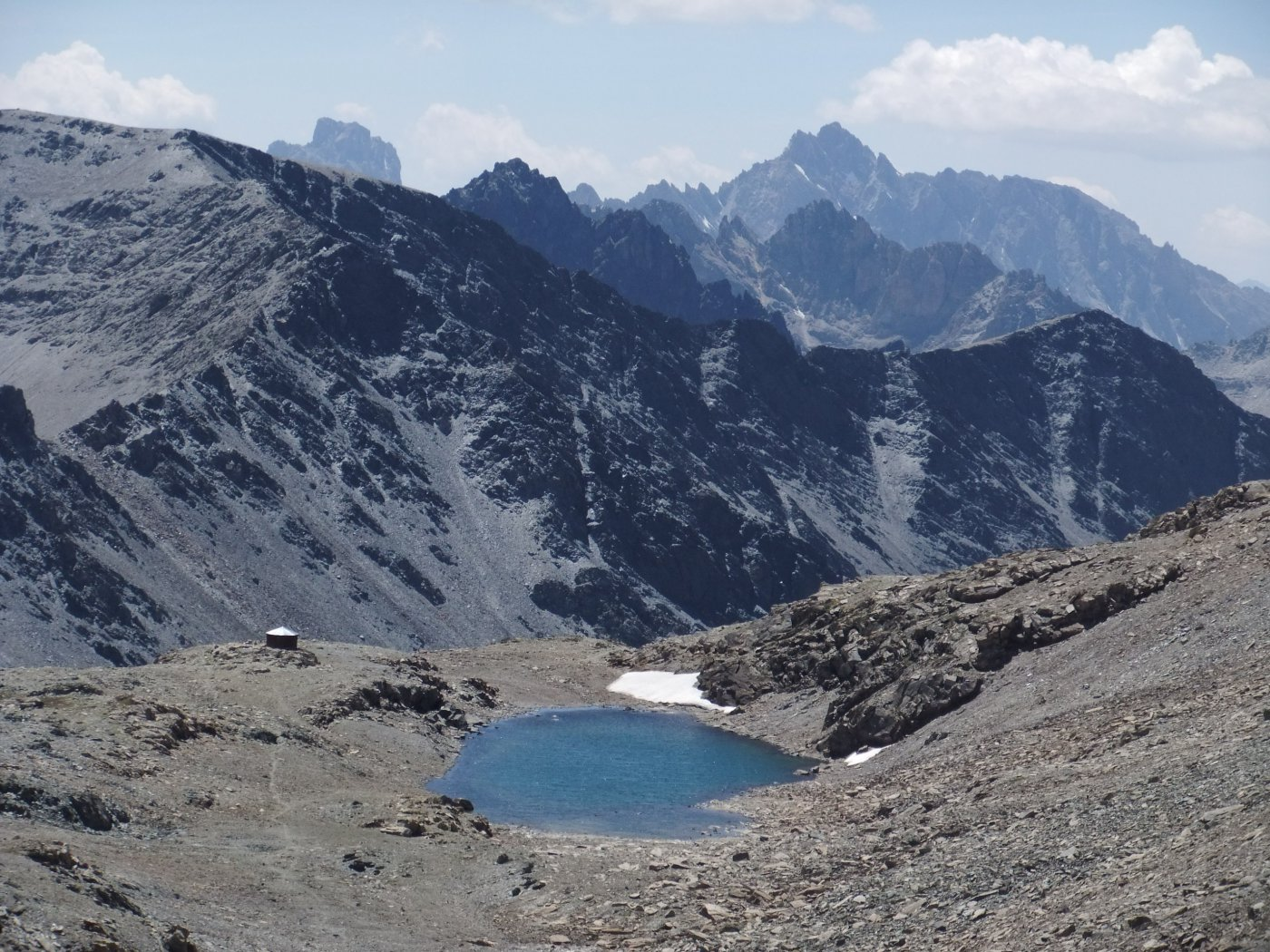 Bivacco Boerio e Lago del Mongioia