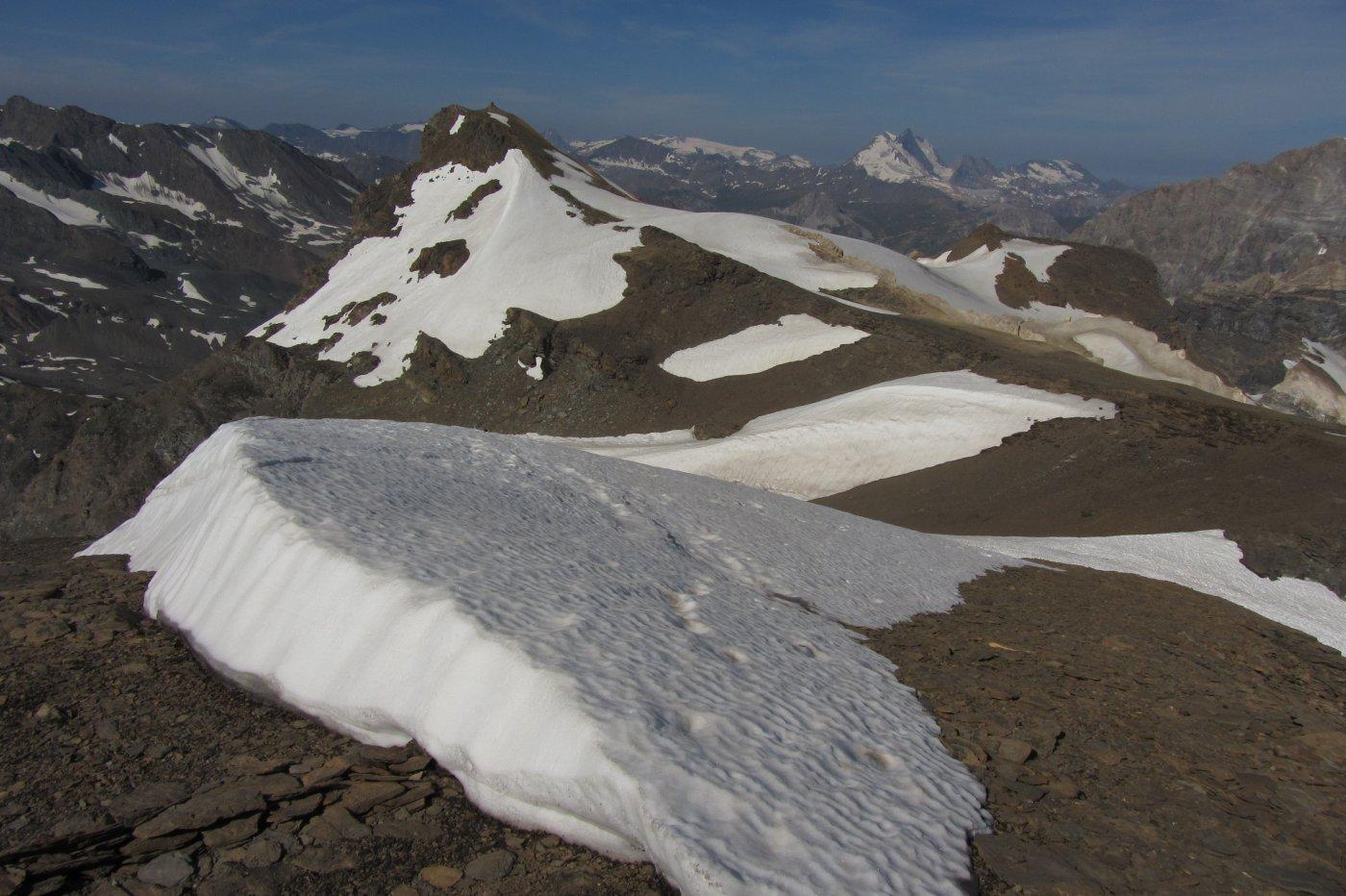 I tratti nevosi da percorrere tra la Bousson e la Galisia