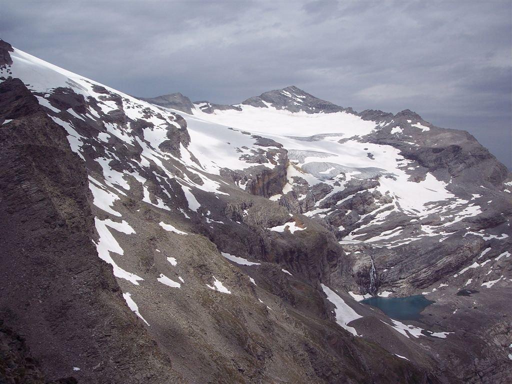 Vista su Breithorn e Monte Leone