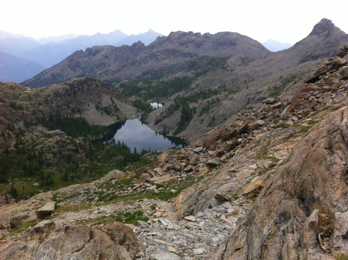 Servaz, Noir, Cornu, Grand Lac, Gelè (Laghi) da Veulla, anello 2015-07-18