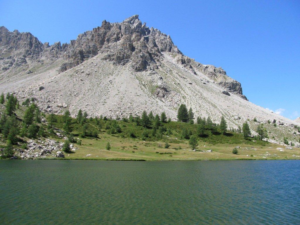 Il Lago  Lauzet.