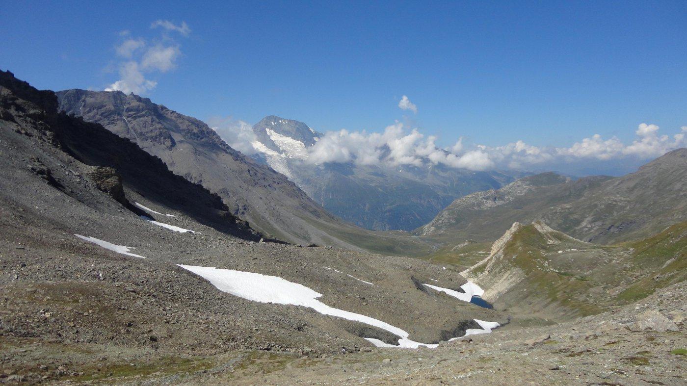Vaudet (Col de) o du Rocher Blanc da Surrier per il rifugio Bezzi 2015-07-20