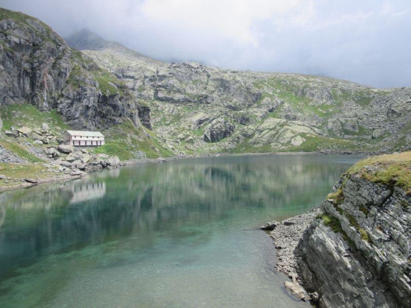 Lago Dietro la Torre m. 2366