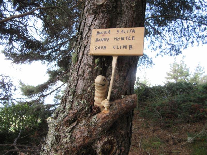 Un augurante cartello