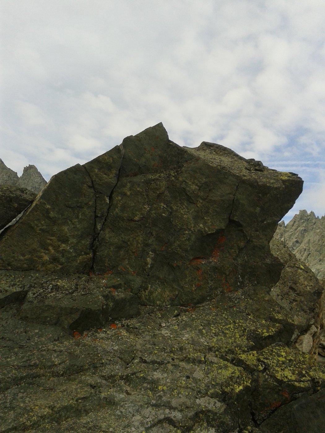 Punta alpinistica.La cuspide